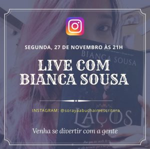 IMG 0168 300x298 - Live com Autores Novembro / Dezembro 2017